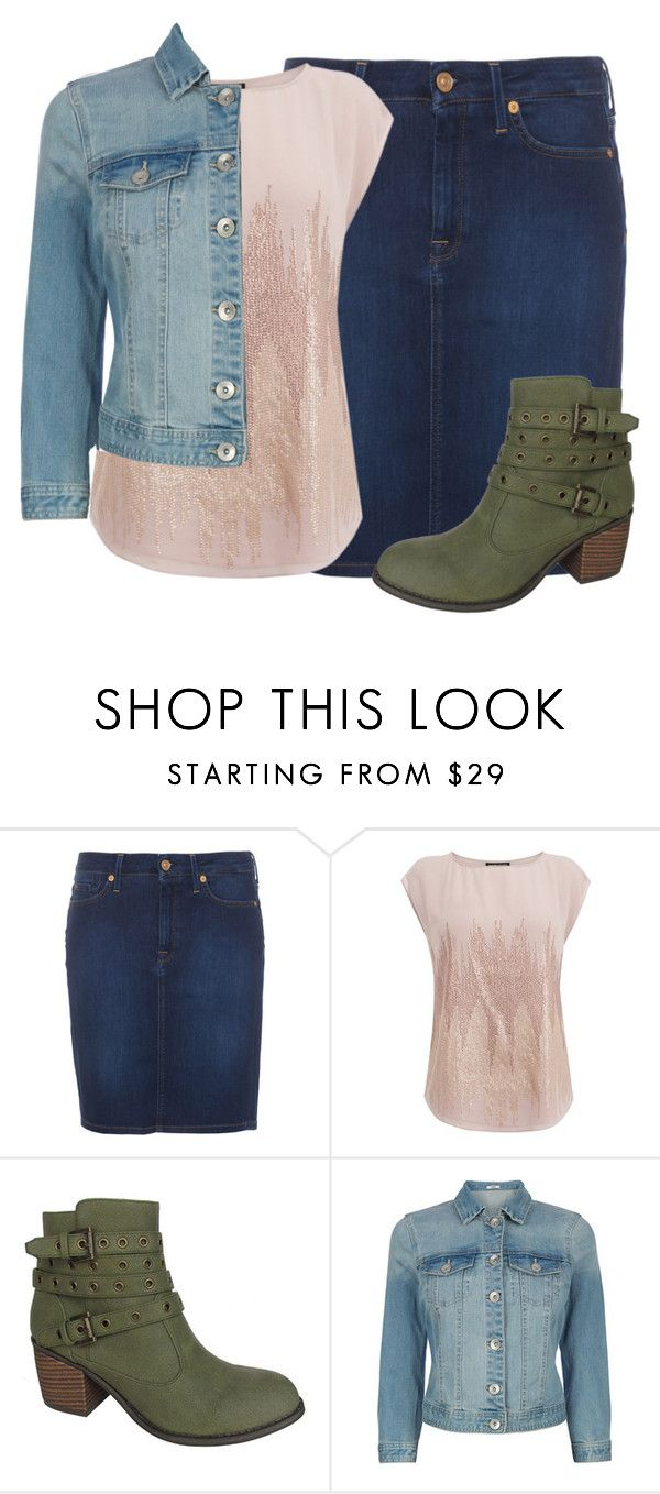 """""""Don't know what to title it...-Grace"""" by isongirls ❤ liked on Polyvore featuring 7 For All Mankind, Warehouse, Michael Antonio, Oasis and beldesigns16"""