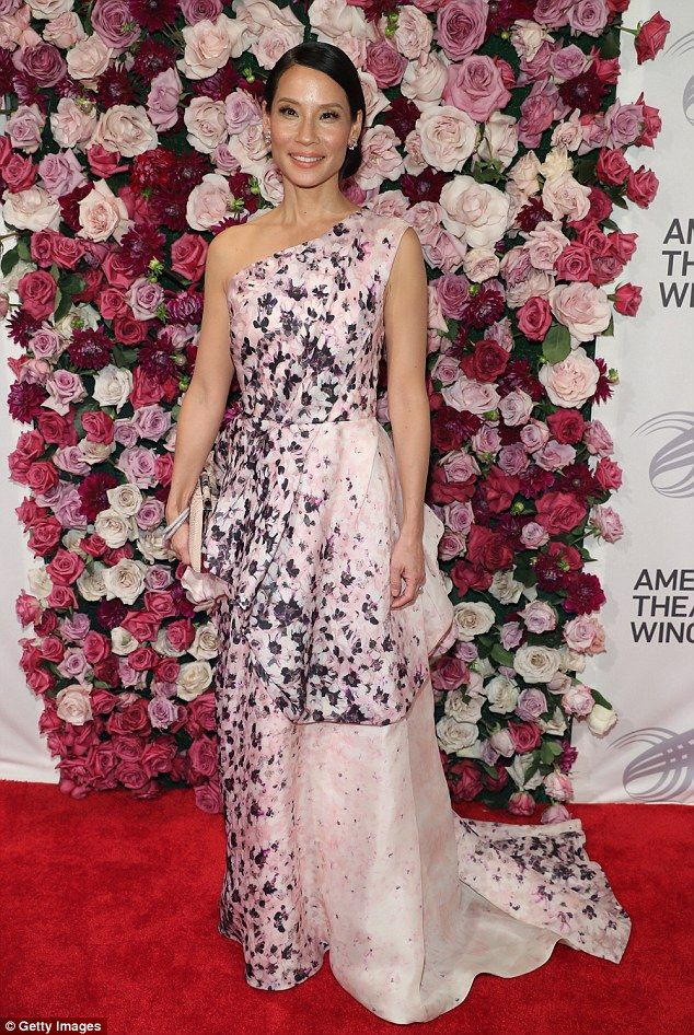 Lucy Liu At The American Theatre Wing Gala In New York