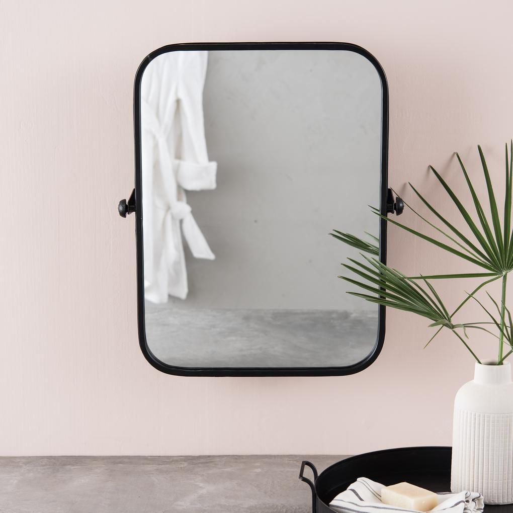 Atlas Pivot Mirror Pivot Bathroom Mirror Black Bathroom Mirrors