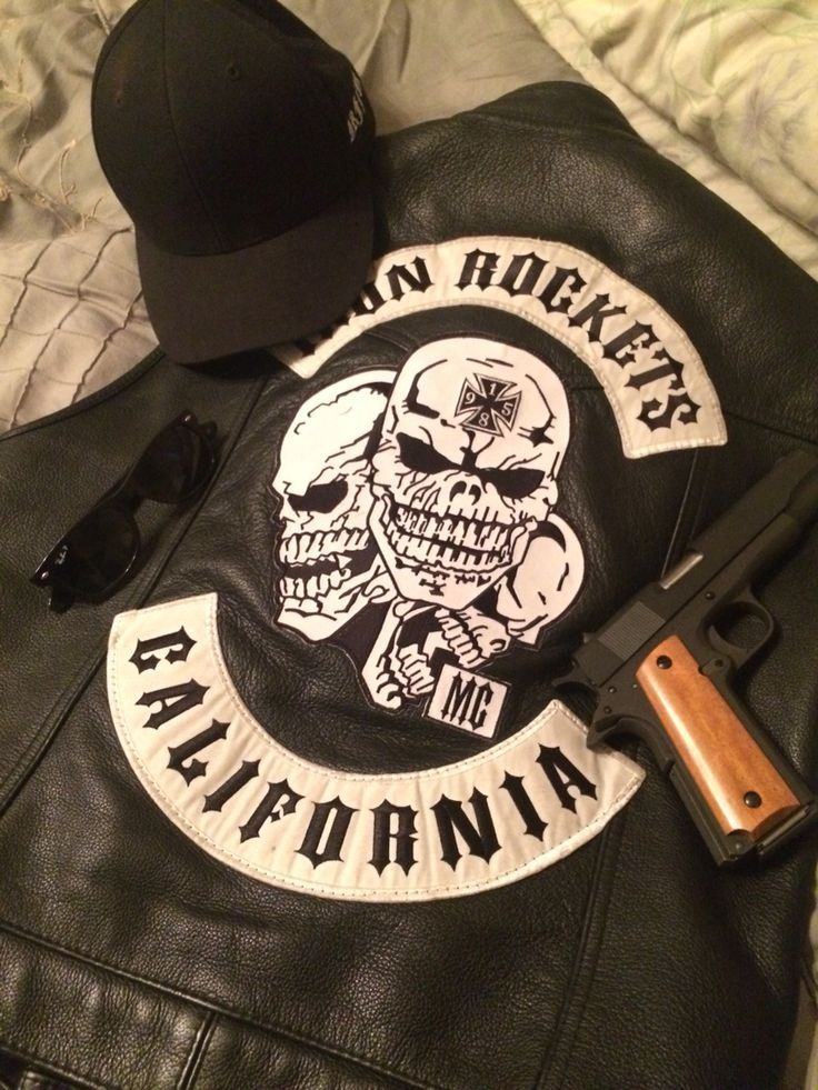 IRON ROCKETS MC Motorcycle Club Patches