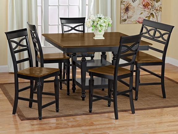 American Signature Furniture   Chesapeake Dining Room  Collection Counter Height Table $499.99