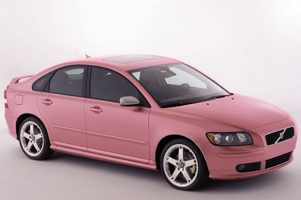 The Volvo Of Today In Pink Volvo S40 Volvo Cars Volvo