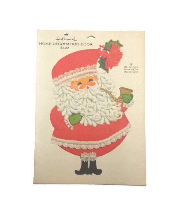 Vintage Hallmark, Home Decoration Book, 1970s Christmas Decor, 8