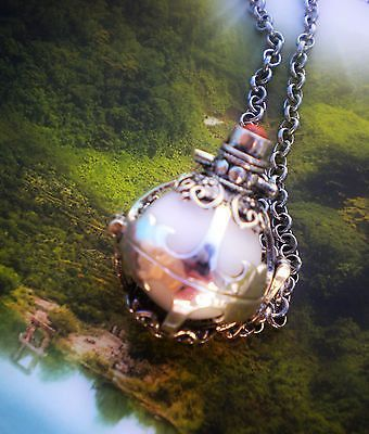 Custom Velvet Moon Cremation Fillable Urn Pendant Necklace Jewelry by Clearly Loved Artistic