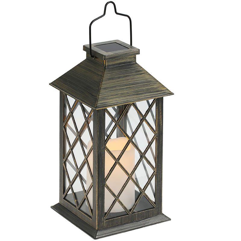 P// Solarleuchte 6 LED Solarlampe Außenbeleuchtung Gartenlampe Licht Wasserdicht
