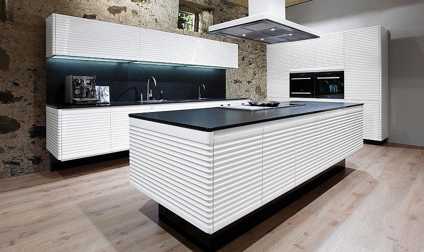 allmilmoe-kuechen-modern-art-contura.jpg (870×517) | konyha (small ... - Modern Küche