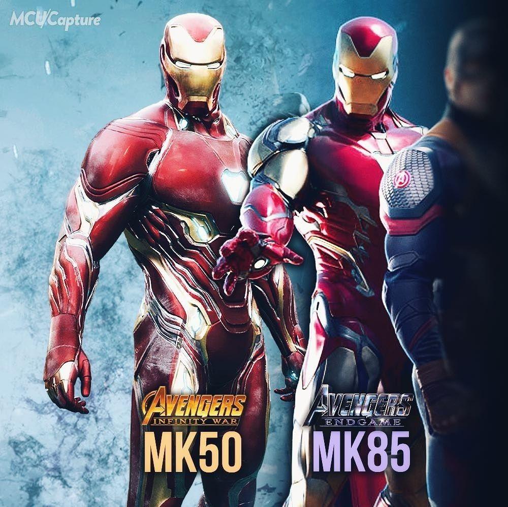 Iron Man Mark 50 Mark 85 Marvel Movies Marvel Mcu Marvel