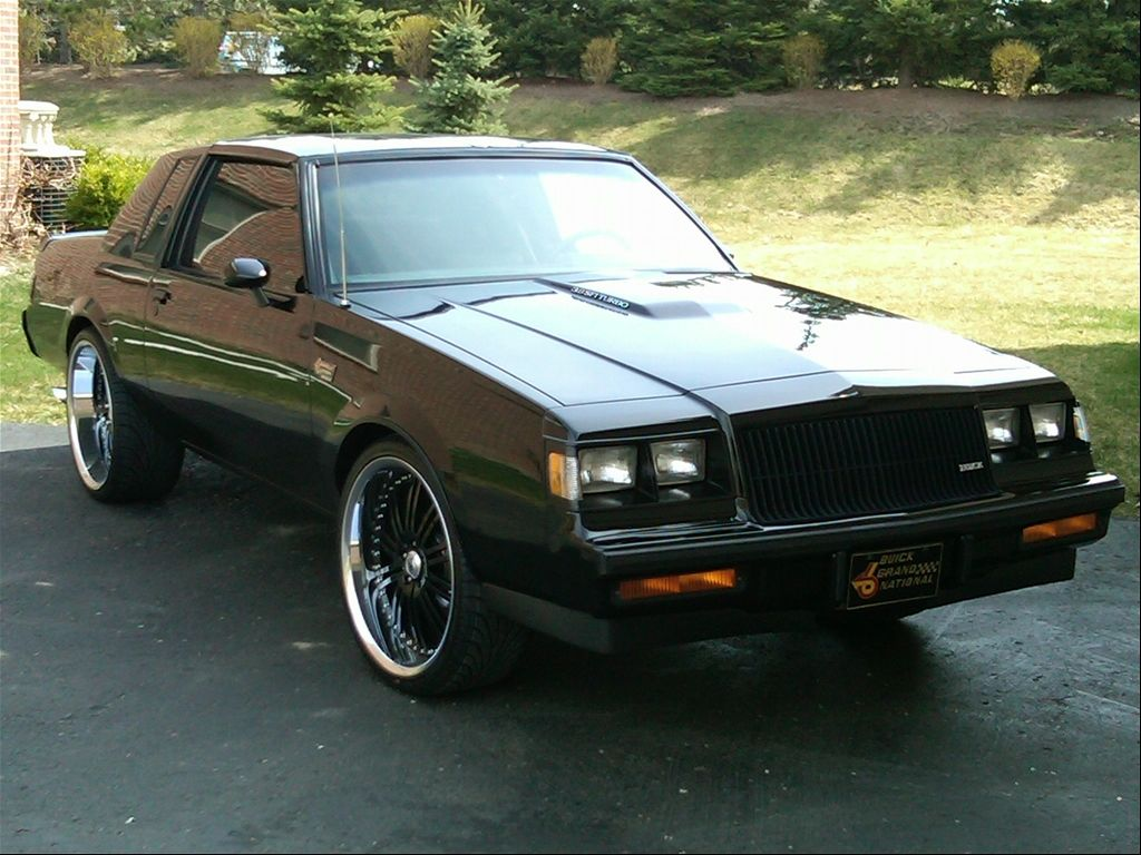 1987 Buick GNX. In \'87 this sucker was one of, if not the, fastest ...