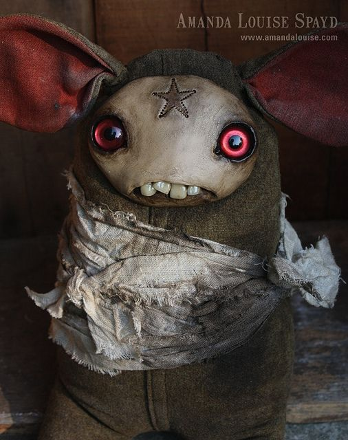 Cool art doll by Amanda Louise