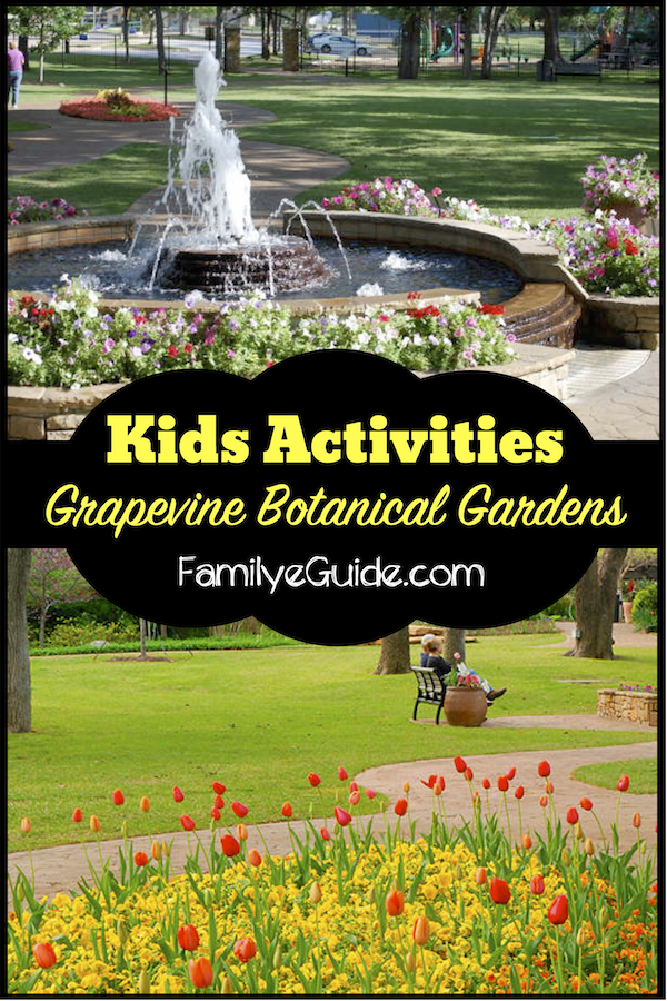 Kid Event at Grapevine Botanical Gardens | Dallas-Fort Worth ...