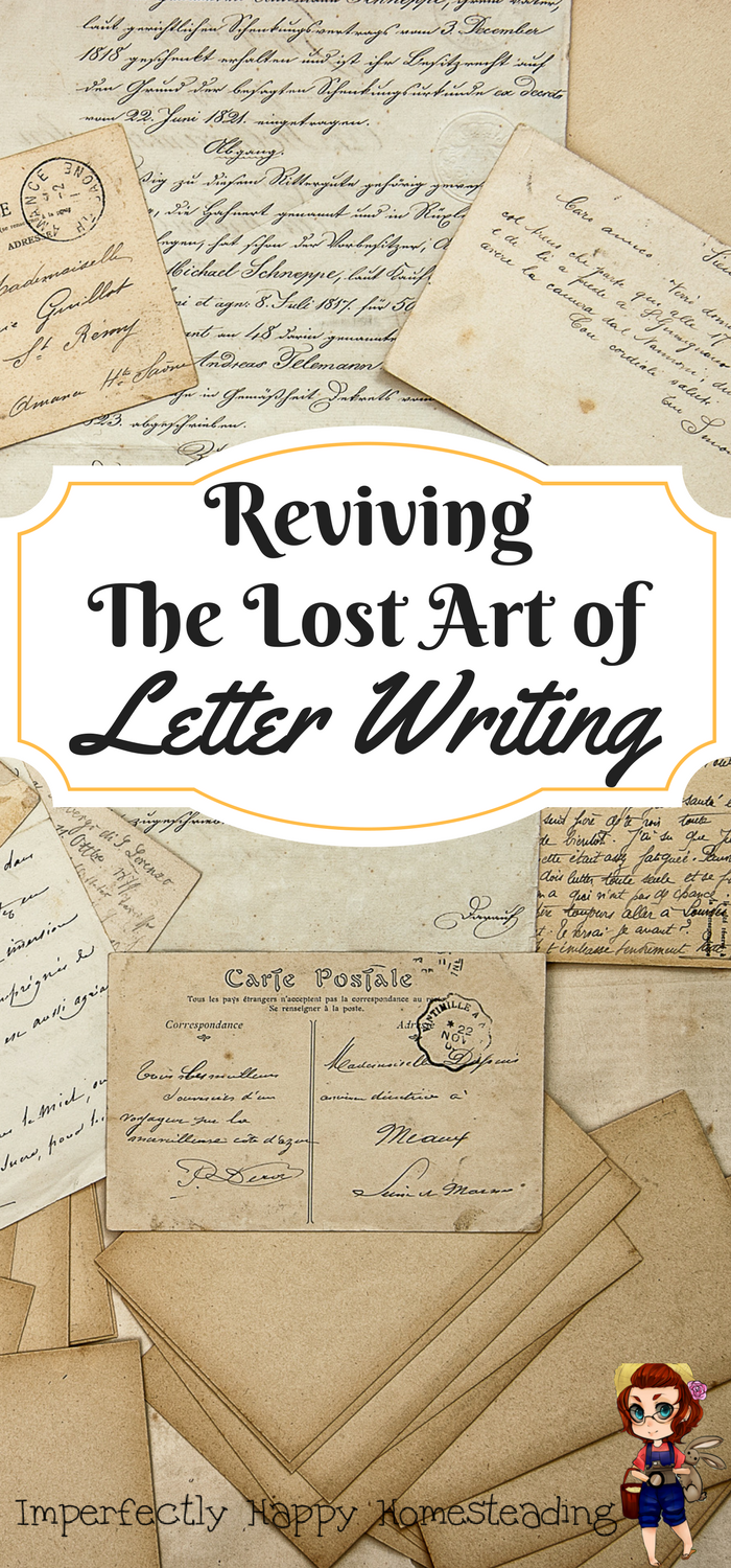 The Lost Art Of Letter Writing  Vintage Homesteads And Snail Mail