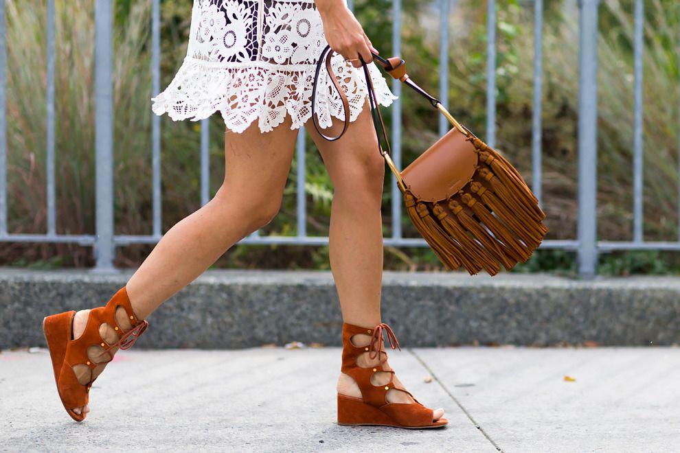 Streetstyle на Неделе моды в Нью-Йорке. Часть 1 | Мода | VOGUE