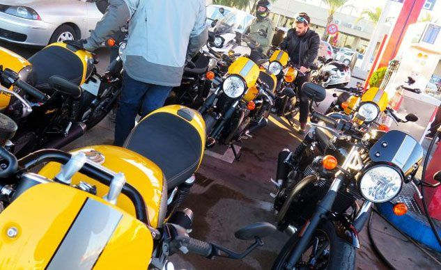 Triumph Street Cup And Scrambler First Ride Is Happening Now
