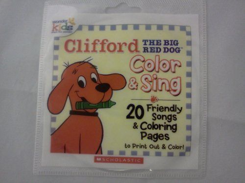 Clifford Color  Sing Audio CDCDROM with 20 Friendly Songs