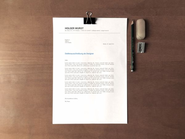 CV \ Resume \ Cover Letter Template (PSD\/AI) on Behance Layout - cover letter designs
