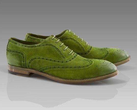 Zapatos verdes para hombre WjSA7Yb