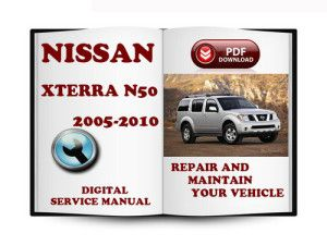 maintenance 2005 2007 2008 2010 nissan xterra technical workshop rh pinterest com 2012 Nissan Xterra 2012 Nissan Xterra