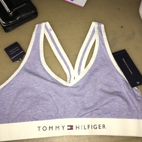 c33d09966a8 Tommy Hilfiger sports bra   bralette Authentic Tommy Hilfiger bralette  (basically sports bra). NWT. (One of the two tags fell off one of the bras  but I ...