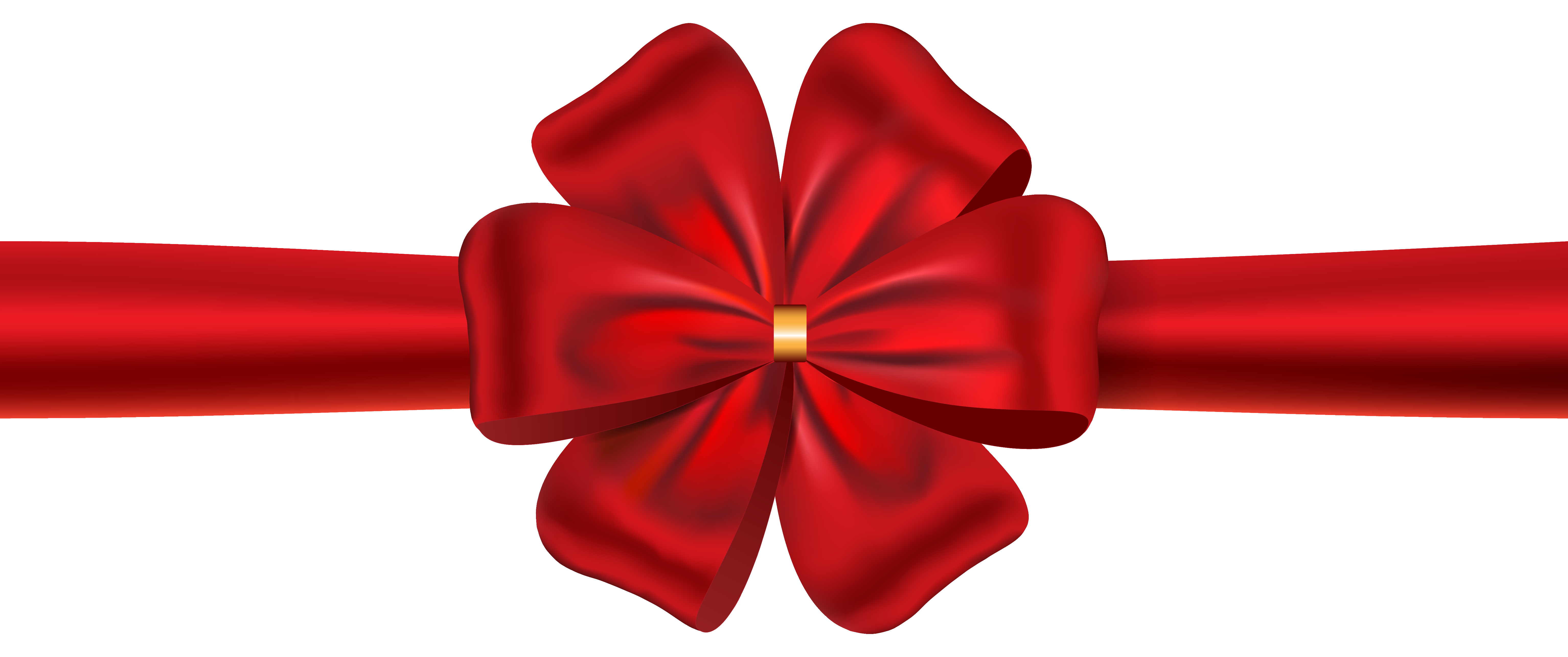 Red Ribbon with Bow PNG Image   Gallery Yopriceville ...
