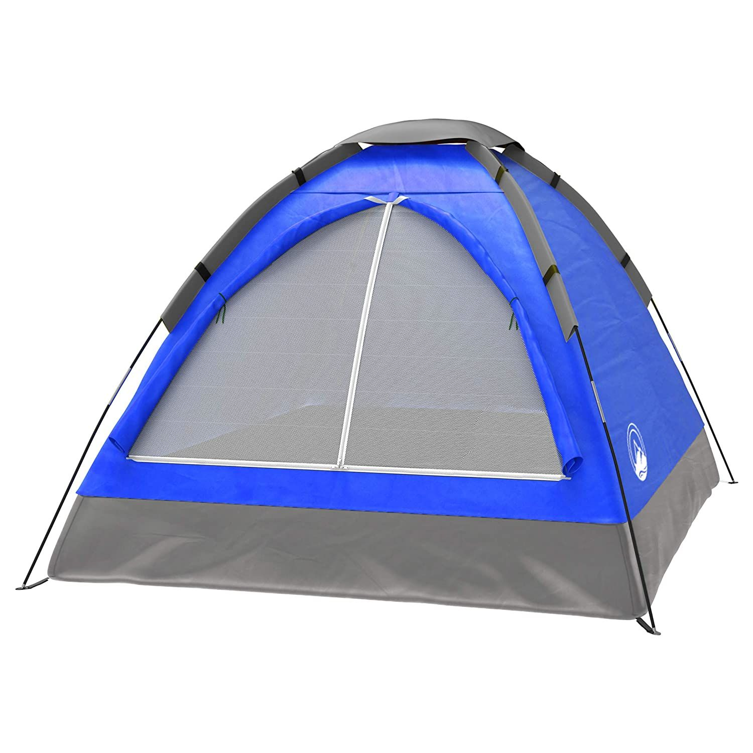 2 Person Tent Dome Tents For Camping With Carry Bag By Wakeman Outdoors Camping Gear For Blue Two Person Tent Dome Tent Tent