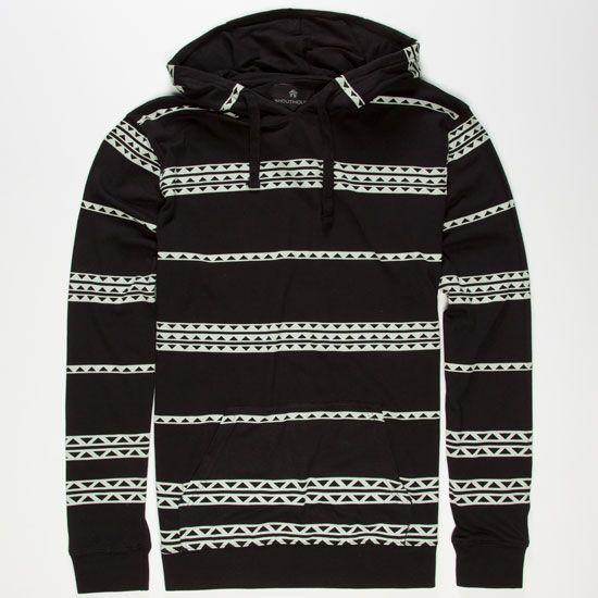 O/'Neill Men/'s Aztec Print Light Weight L//S Pull Over Hoodie