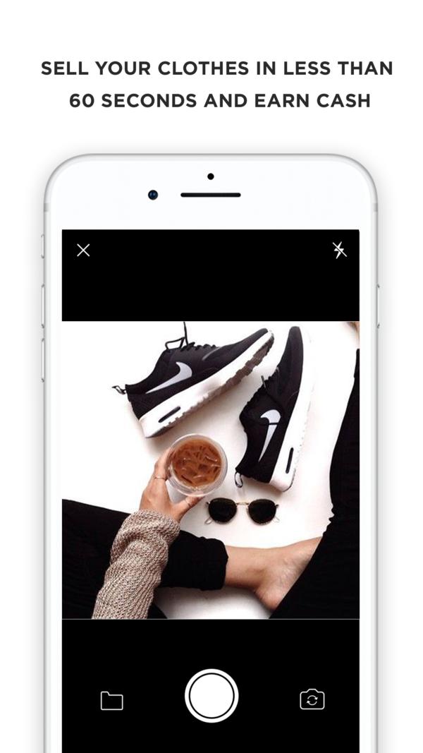 Poshmark on the App Store Fashion app, Retail fashion