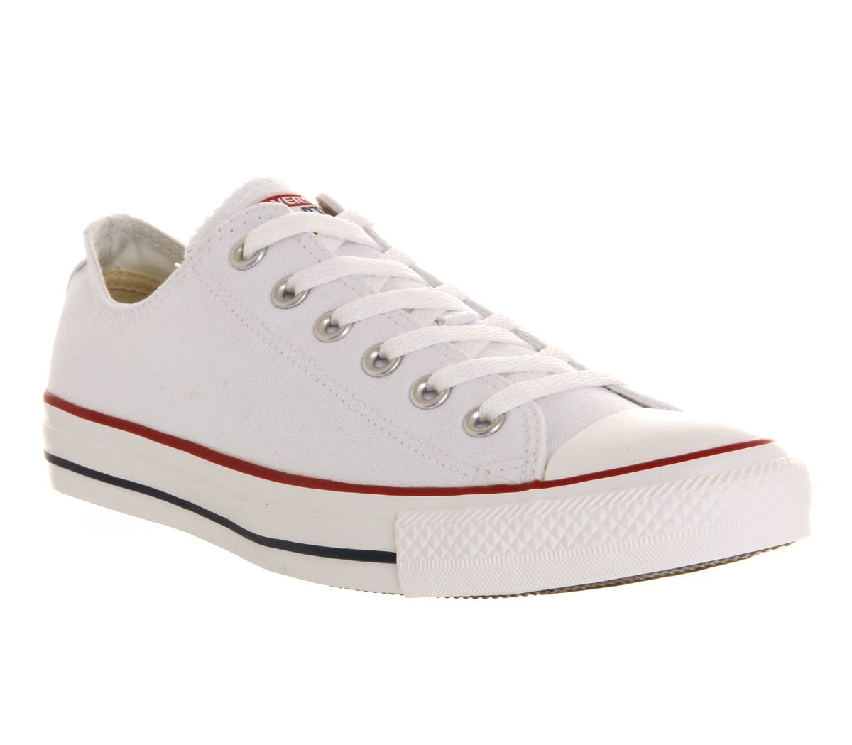 6ab259c007d Converse Converse All Star Low White Canvas - Unisex Sports ...