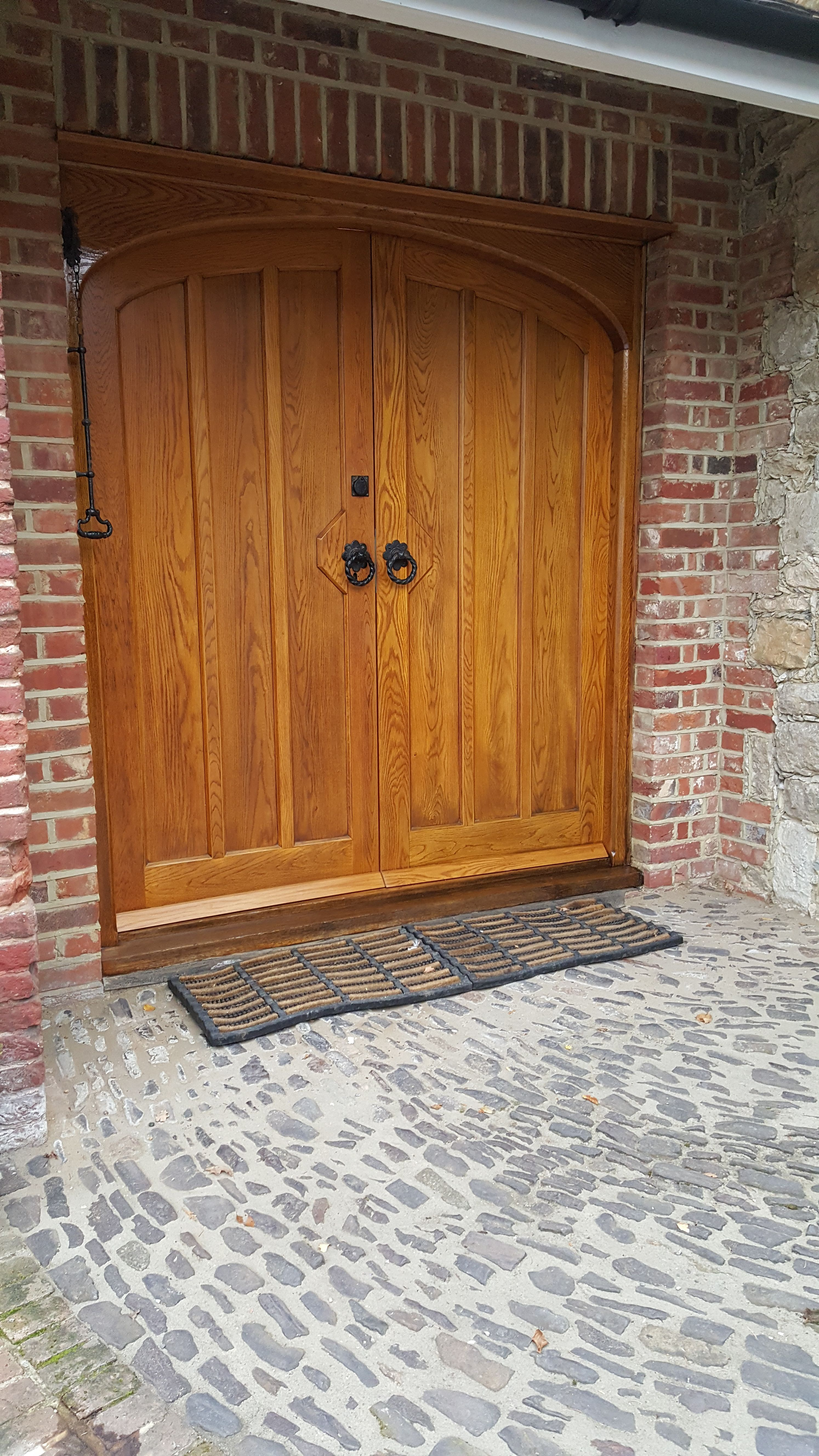 These Oak Doors Have Been Stripped And Re Varnished