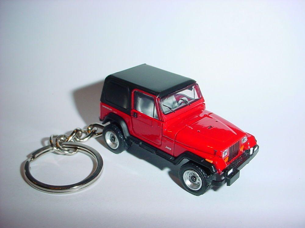 New 3d Red Jeep Wrangler Custom Keychain Keyring Key 4x4 Offroad Sahara 1992 Unbranded Jeep Keychain Jeep Jeep Life