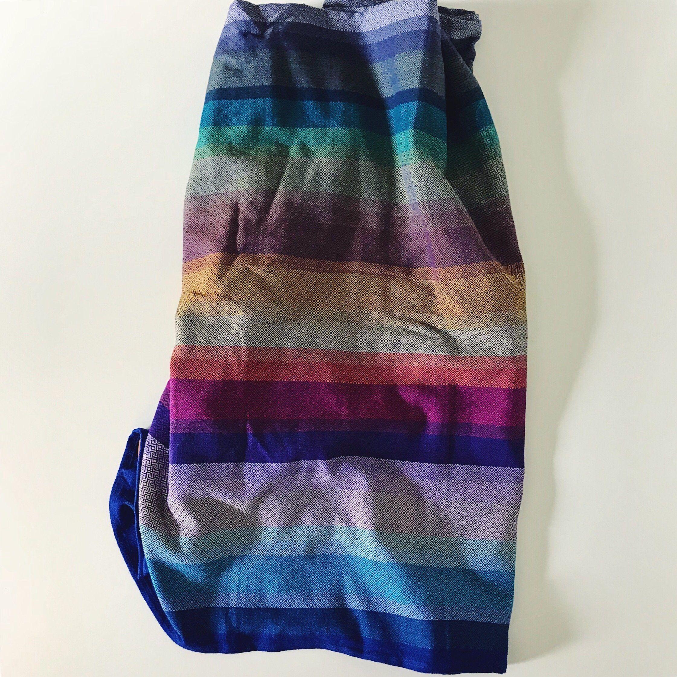 0c0c184a9de Girasol Elements Diamond Weave Rainbow Woven Wrap