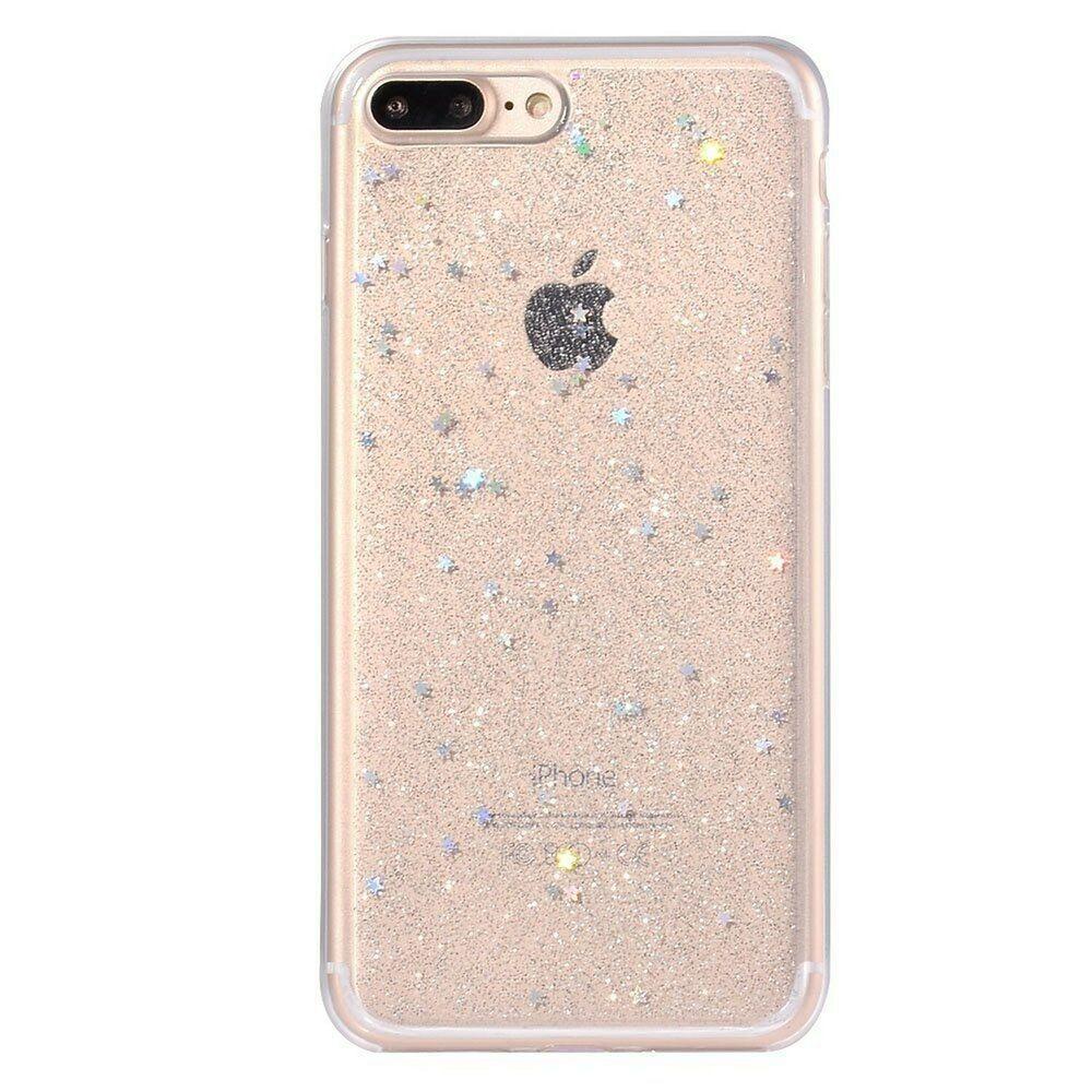 Iphone 8 Plus Phone Case Tpu Glitter Dazzling Mate Star Sparkle Design Fo New Glitter Case Ipho Sparkly Phone Cases Sparkly Iphone Case Sparkle Phone Case