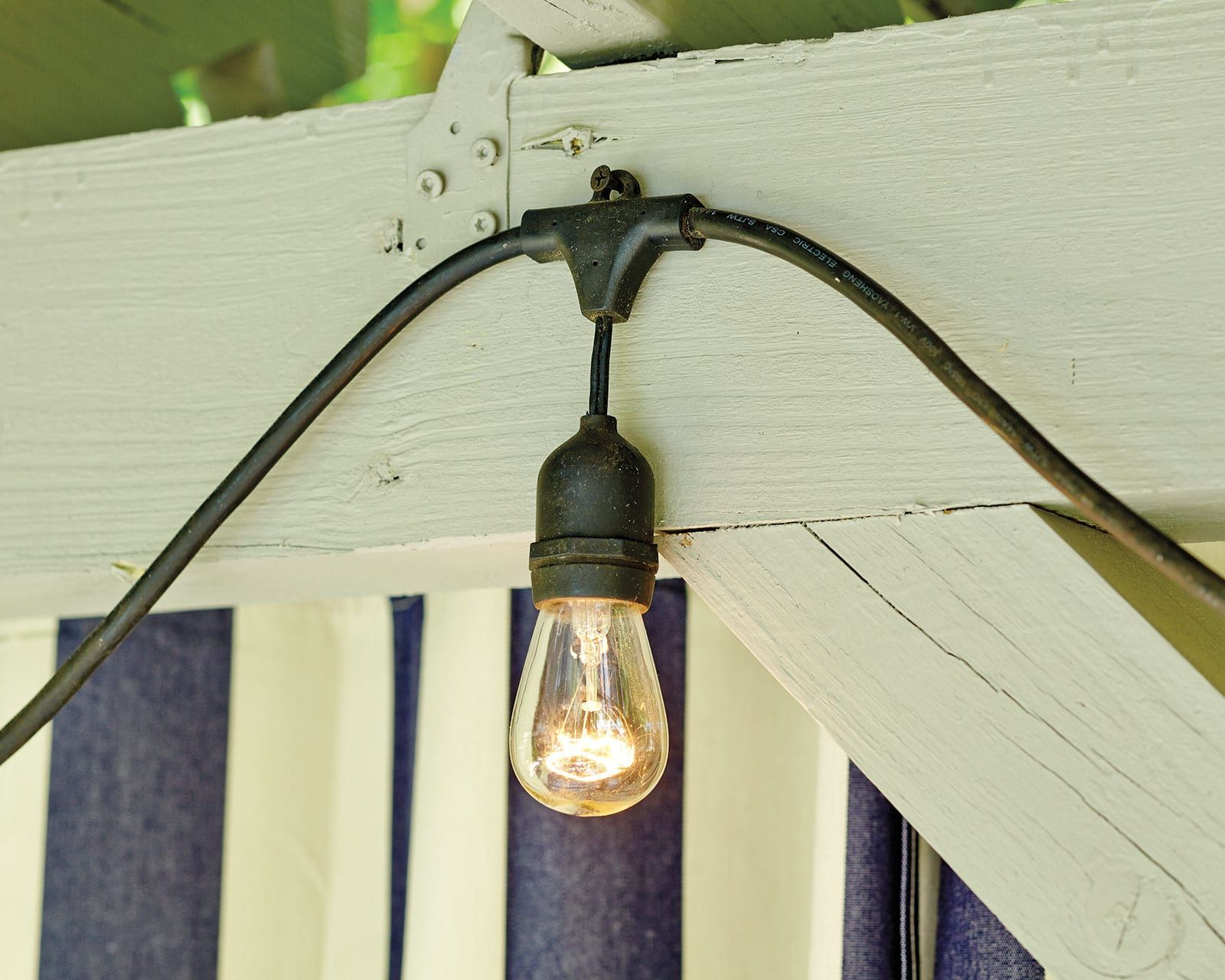 How To Hang String Lights Porch Hanging Patio Lights
