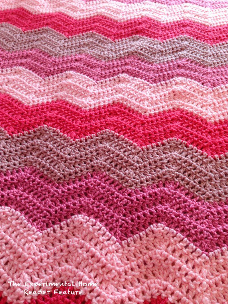 The chevron crochet craze: Reader Features!   CROCHET 2   Pinterest ...