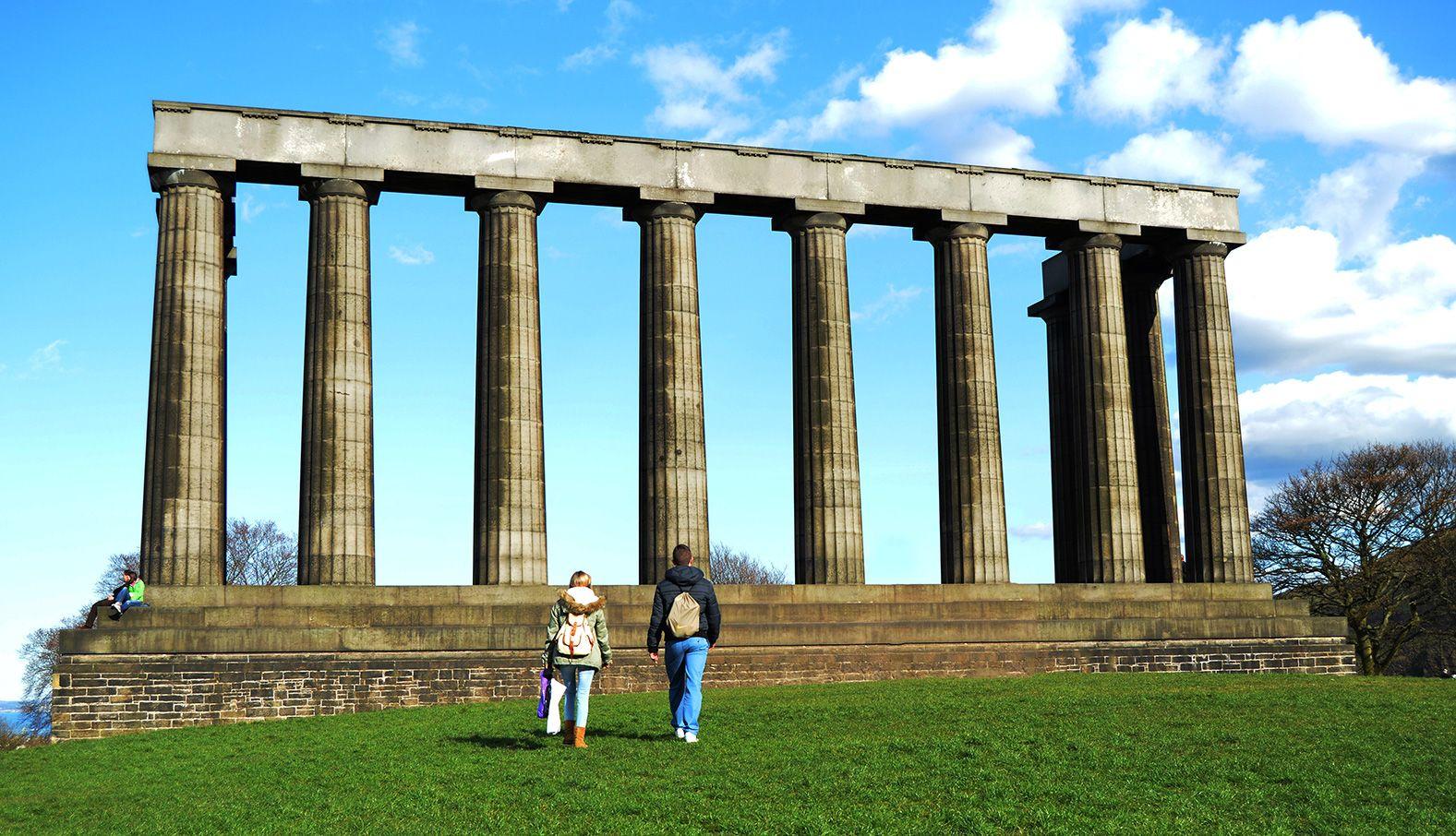 Monumento nacional Edimburgo
