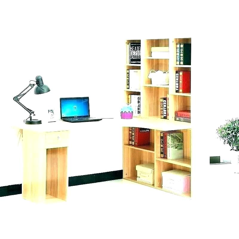 Built In Corner Desk And Bookshelves Google Search Bookshelf Desk Small Storage Cabinet White Office Furniture