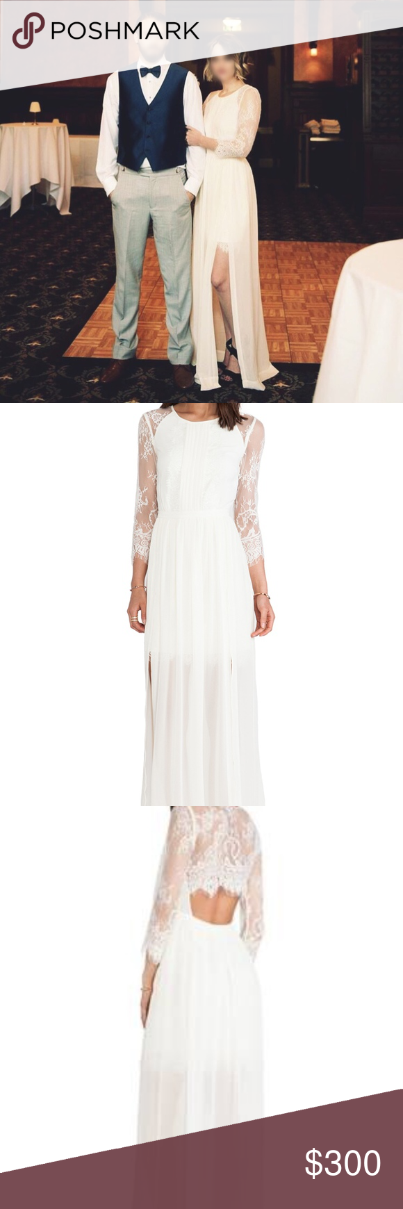 Lace wedding dress under 300  Alice by Temperley Hemingway Dress White  Temperley Alice and Gowns