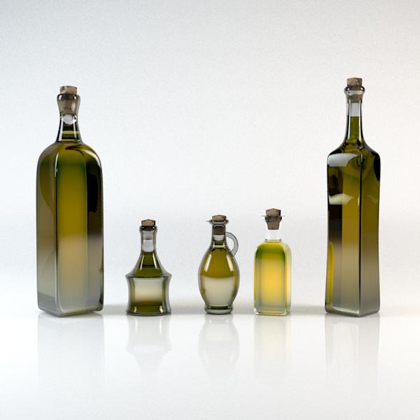 Olive Oil Bottle Pack 5in1 Olive Oil Bottles Oil Bottle Bottle