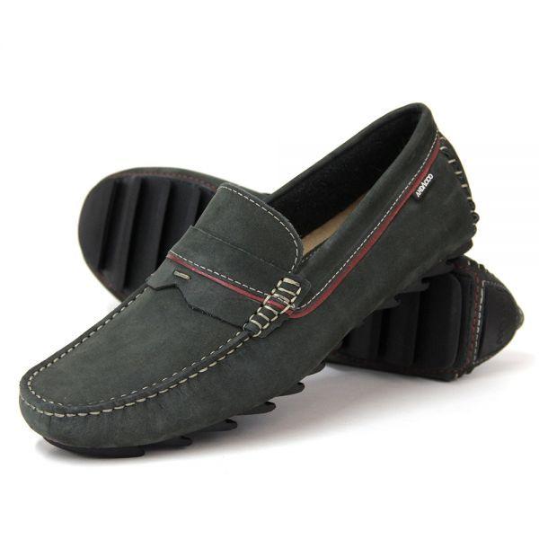 f4a4303da9572 MOCASSIM EM COURO - MUSGO | Men's Driver-Loafer Shoes (By Clark F ...