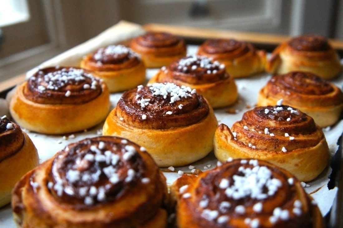 Scandi Kitchen Cinnamon Buns