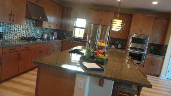 Love this island!  Henderson Model Home Contact Connie Esparza for more info on New Construction 702-249-4856 www.conniesellslv.com