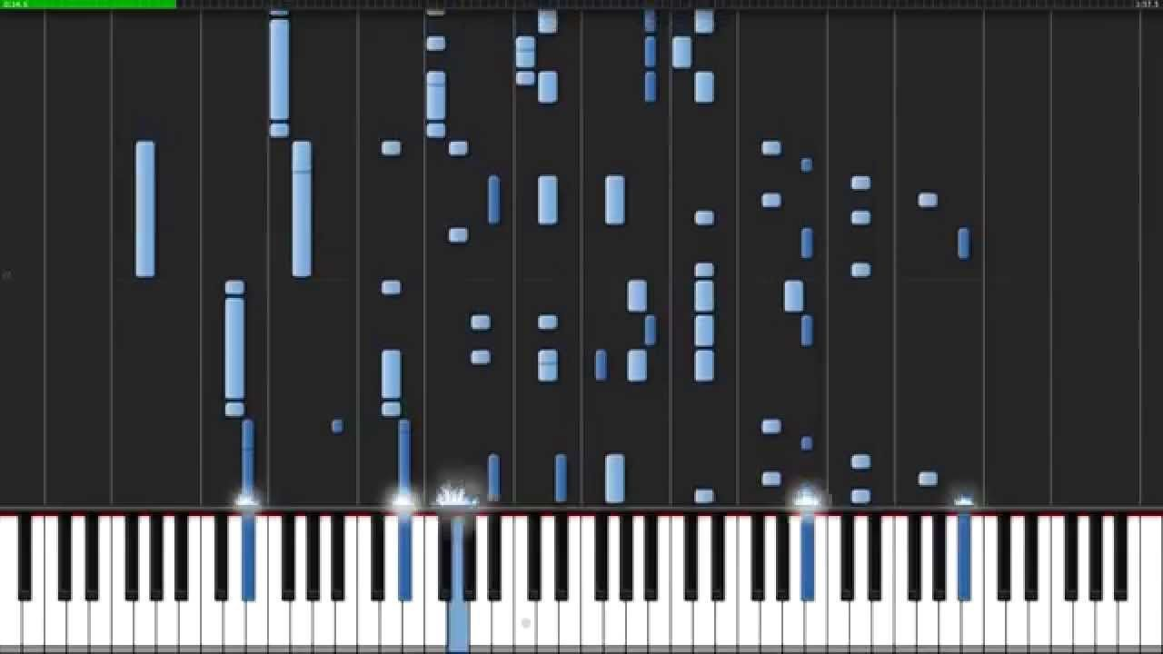 Unravel Tokyo Ghoul Opening Piano Tutorial Synthesia