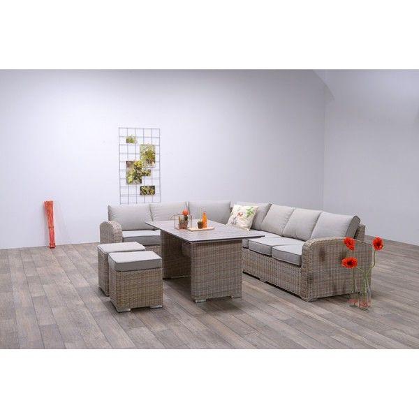 Lounge Dining Set | PORTOFINO | Passion Willow / Sand ...