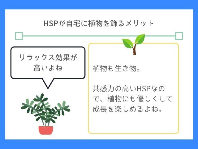 Photo of HSPが自宅に植物を飾る4つのメリット