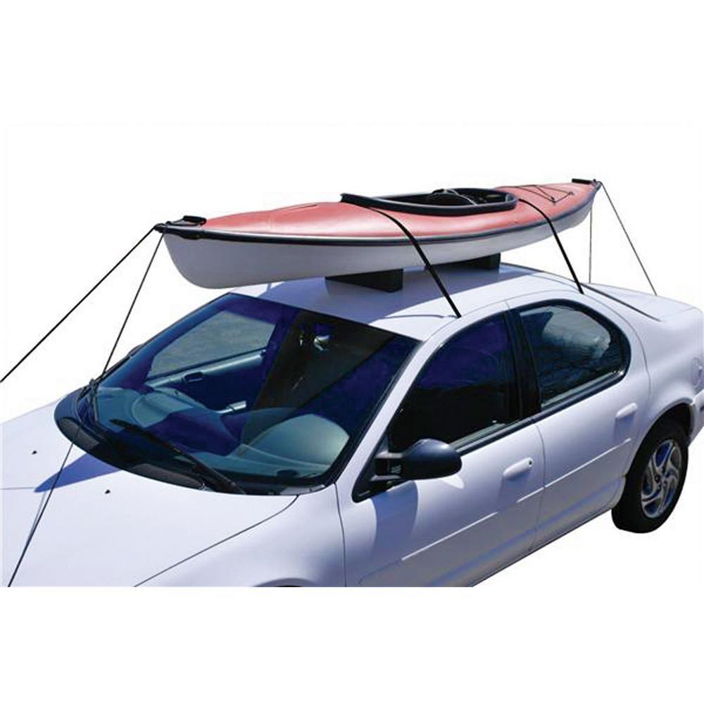 Attwood Car Top Kayak Carrier Kit 11438 7 The Home Depot Kayak Rack For Car Kayak Roof Rack Kayak Storage