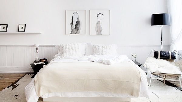 Top 5 Tips To Create An All-White Bedroom