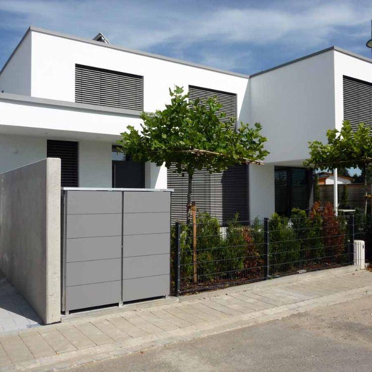 Moderne Mülltonnenboxen, modular erweiterbar, in über 100