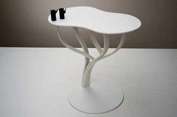 Bleached Bough End Tables : Ilan Dei Studio Tree Table