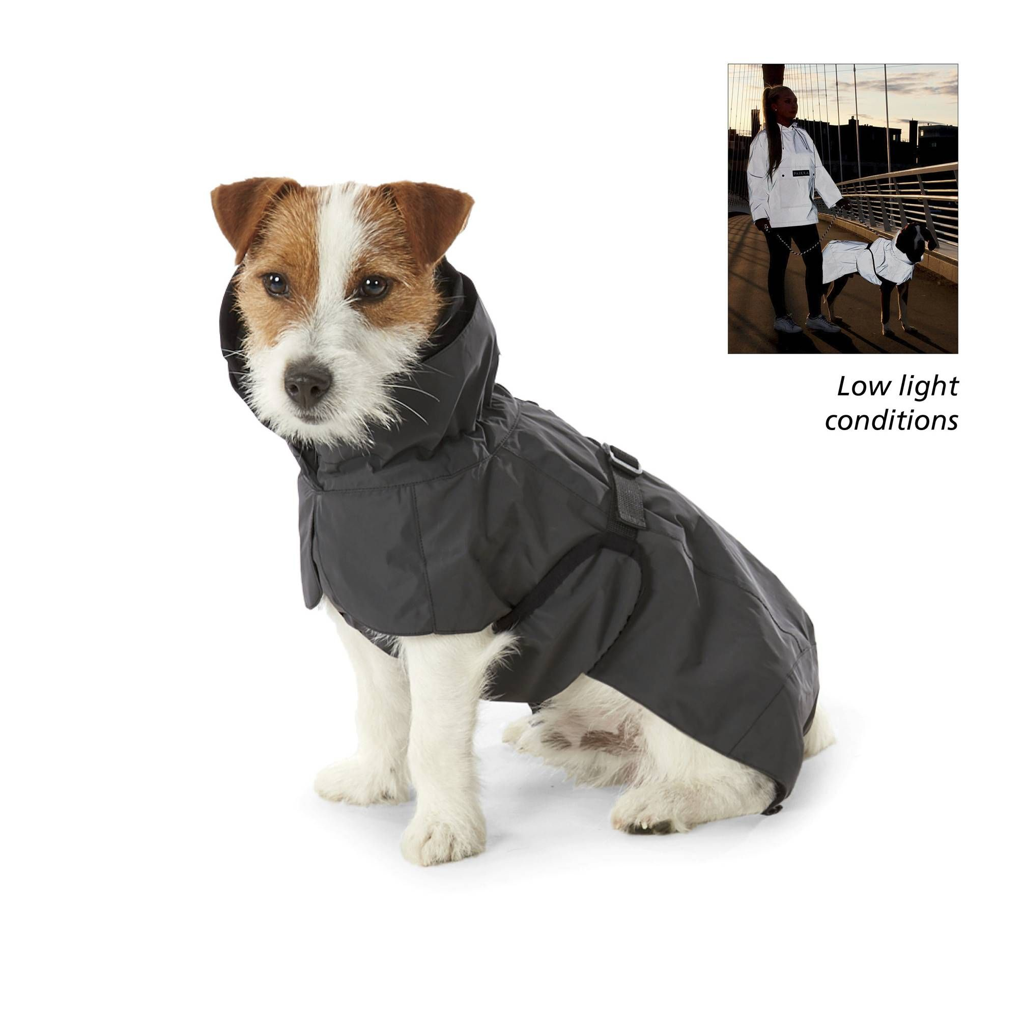 Paikka Visibility Dog Raincoat Great Gear And Gifts For