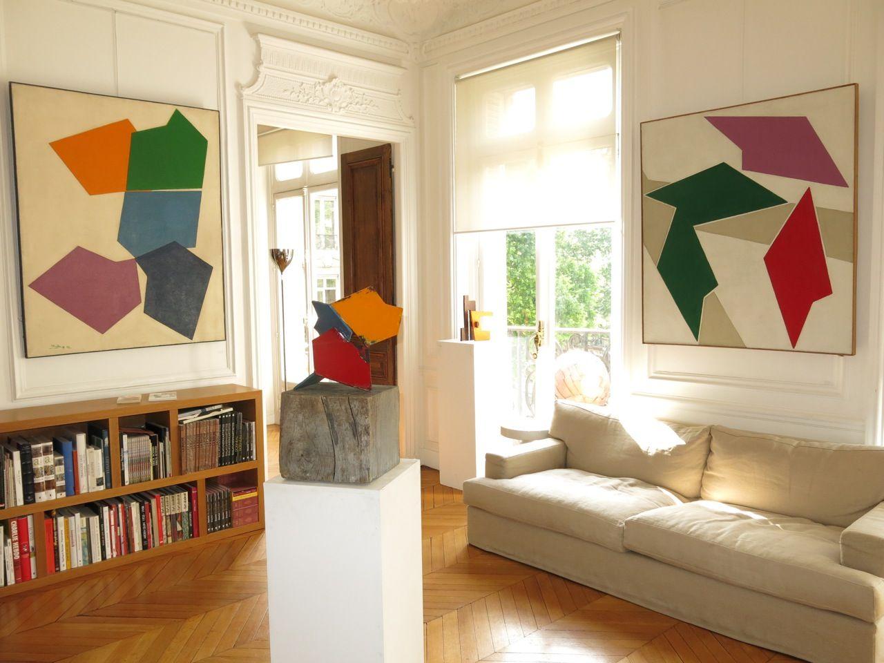 Ren Roche #art #abstraction #paris #pfgarcier
