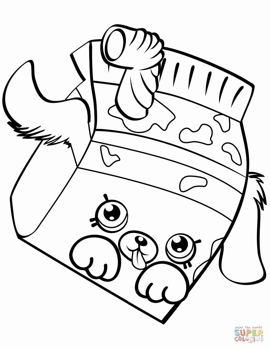 Shopkins Free Printables Coloring Pages Beautiful Unique Shopkins